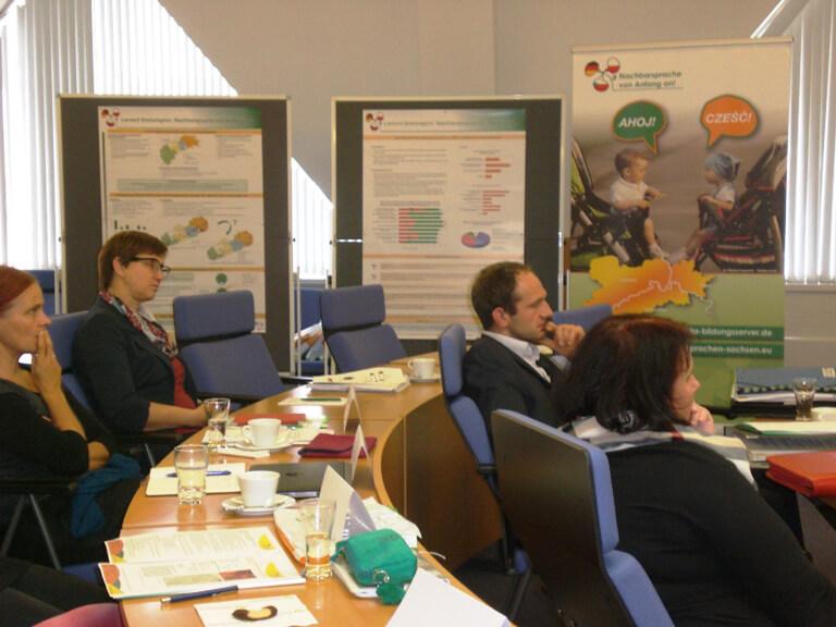 Impression von der Beiratssitzung vergangenen Beiratsitzung in Stollberg