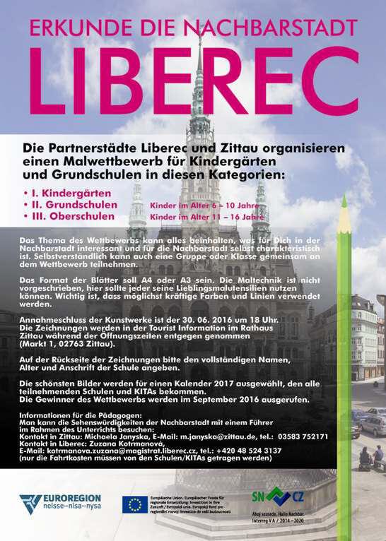 Malwettbewerb Zittau-Liberec