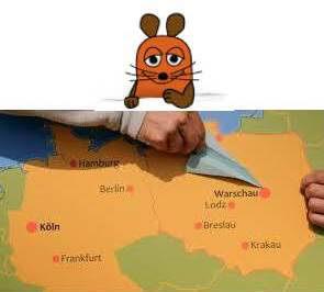 Die Maus zu Besuch in Polen