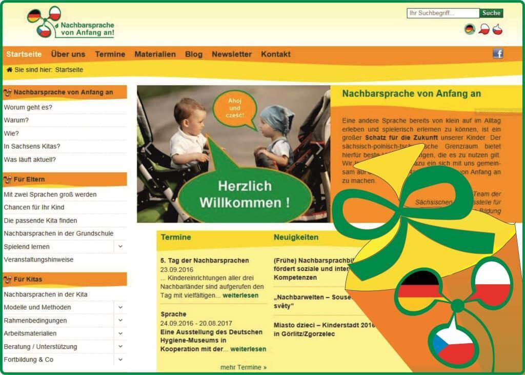 Startseite Nachbarsprachplattform