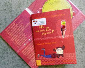 Buch und Hör-CD Wer hat mein Eis gegessen