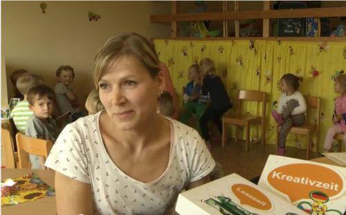 Videoausschnitt - Interview mit Kitaleiterin N.Börner