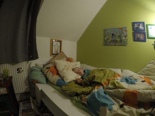 Kind im Schlaf