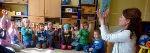 Kinderstübchen Irfersgrün, 29.03.17: Kristin Gerhardt (EUREGIO EGRENSIS)