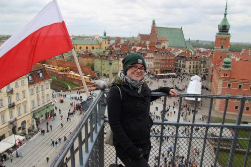Foto: In der Altstadt von Warschau, Sofia Westhold
